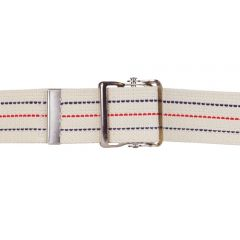 Blue Jay From: BJ210262 To: BJ210272 - Gait Belt W/Metal Buckle Striped Jay Brand W/ Safety Release