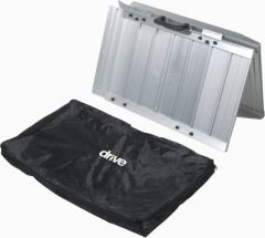 Drive Medical From: stds1093 To: stds1097 - Single Fold Portable Wheelchair Scooter Ramp With Carry Handle And Travel Bag, 2 Feet Long 3 4 5 6