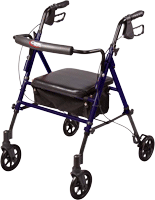Carex From: A223-00 To: A22300 - Step N Rest Roller Walker, 250Lb Capacity 'n Rolling Walker